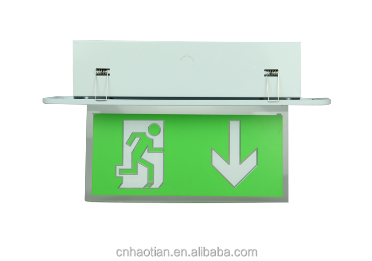 Indoor Mall Rectangle Shape Aluminum Material Wall Mounted Safety