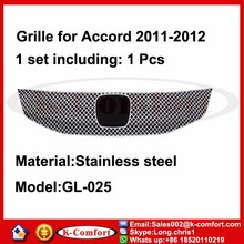 KCOMFORT Steel car auto parts and accessory front grill for h-onda a-ccord 2011-2012