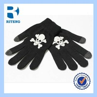 colourful smart customized touch screen gloves