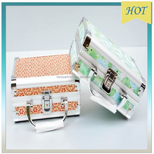 2015 HOT wholesale cheap beauty cosmetic jewellery case
