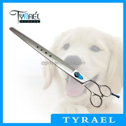 Dog Grooming Scissor with light hole on blade P915