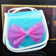 wholesale child Hobo custom plastic jelly bag silicone handbag
