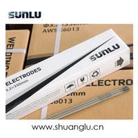 SUNLU AWS E6013 E7018 E6011 E6010 E308L-16 E316L welding electrode/ welding rod exporter from China India Italy