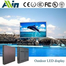 fast lock system, waterproof, support hanging installation method P10 price led full colour outdoor display