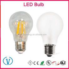 Best price UL ETL CE AC110V AC220V AC240V Custom E26 E12 E14 B22 E27 led filament bulb 8W dimmable