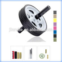 2015 hot sale Exercise plastic AB wheel roller