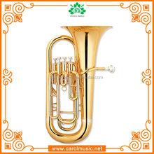 EP004 Bb key Brass Material cheap euphonium