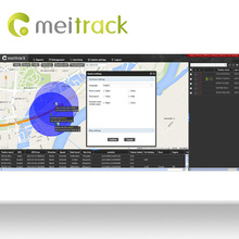 Meitrack cell phone gps tracking software with Accout Control Management