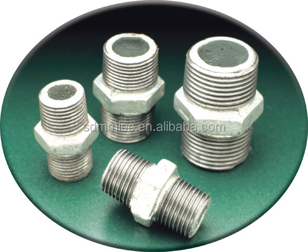 Malleable cast iron pipe fittings npt thread nipples buy