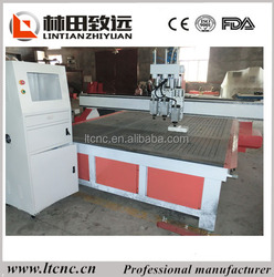 3heads cnc router, cnc router 3 heads carving