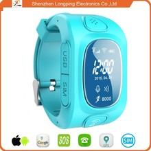 2015 GPS/LBS/AGPS gps tracker watch phone for iphone 6 and android watch
