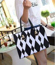Top quality pu brand women gender handbag leather shoulder bag