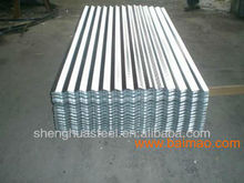 800mm Width Galvanized roof tile with zinc iron sheet BWG34 BWG39