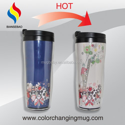 Disposable Colored Plastic Cups Double Wall Plastics Cups 16oz