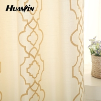 Polyester Curtain fabric, eyelet curtain fabric, 100% polyester faux silk curtains