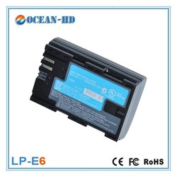 LP-E6 for Canon nimh sc 1800mah 7.2v rechargeable battery