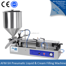CE certification cream lotion filling machine, lotion bottle filler