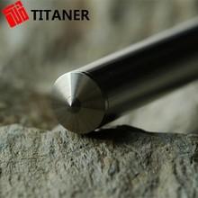 Favorable Price Short Production Nonmagnetic Metal Titanium Ballpoint Pen Personal Protection Devices Self Defense Pens