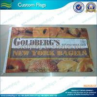 import flag, cartoon flag, slogan banner