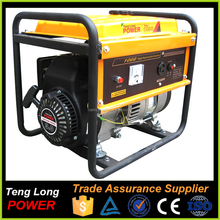 AC Single Phase Portable Silent Type 1kw Gasoline Power Generator