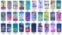 hard shell flower case for iphone 4g 4s, clear side hard plastic cover for iphone 4