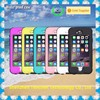 Wholesale IP67 plastic silicon waterproof cell phone case for iPhone with fingerprint