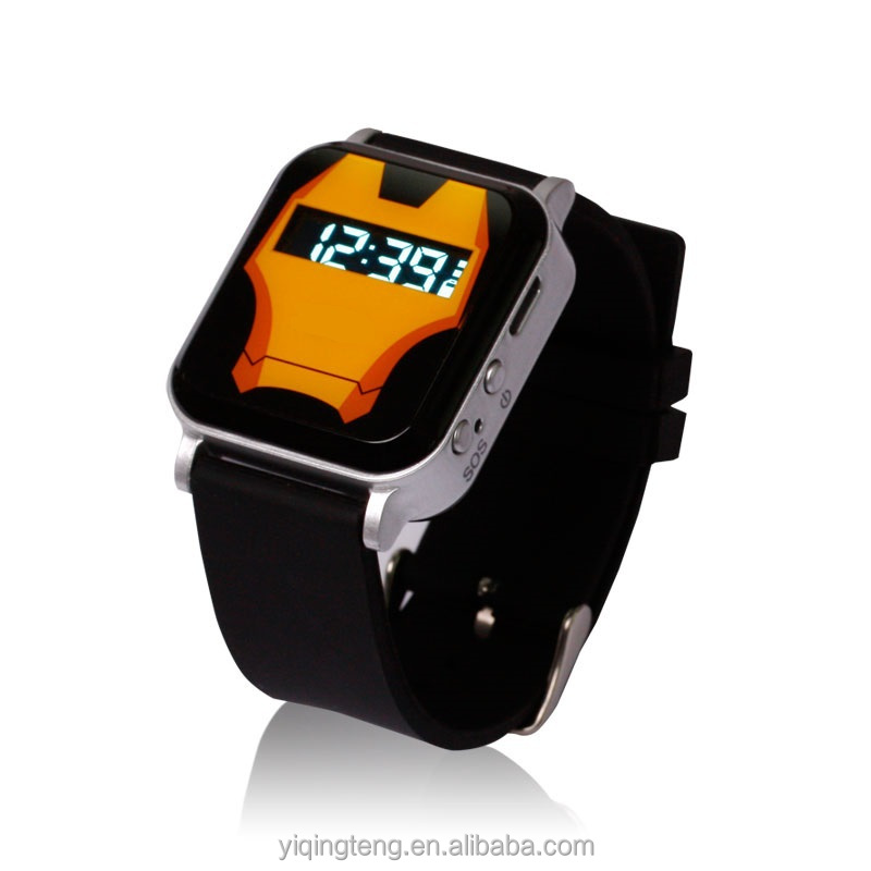 Watch Phone, Wrist Watch GPS Tracking Device For Kids, Cell Phone Watch Android Made in China