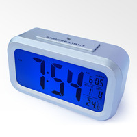 desktop clock with thermometer