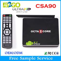 android 5.1 tv box csa90 RK3368 mini pc Octa Core 16GB bt WiFi Smart TV Box CSA90