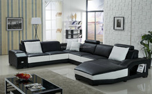 Italian Style Home Furniture Black Sofa, Italian Style Home Furniture 3+2 Seat Sofa, New Design Italy Style Home Furniture