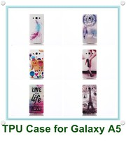 Stylish Printed Rubber TPU IMD Mobile Phone Case Cover for Samsung Galaxy A5 A500