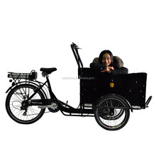 three wheel passenger bicycle cargo carrier tricycle