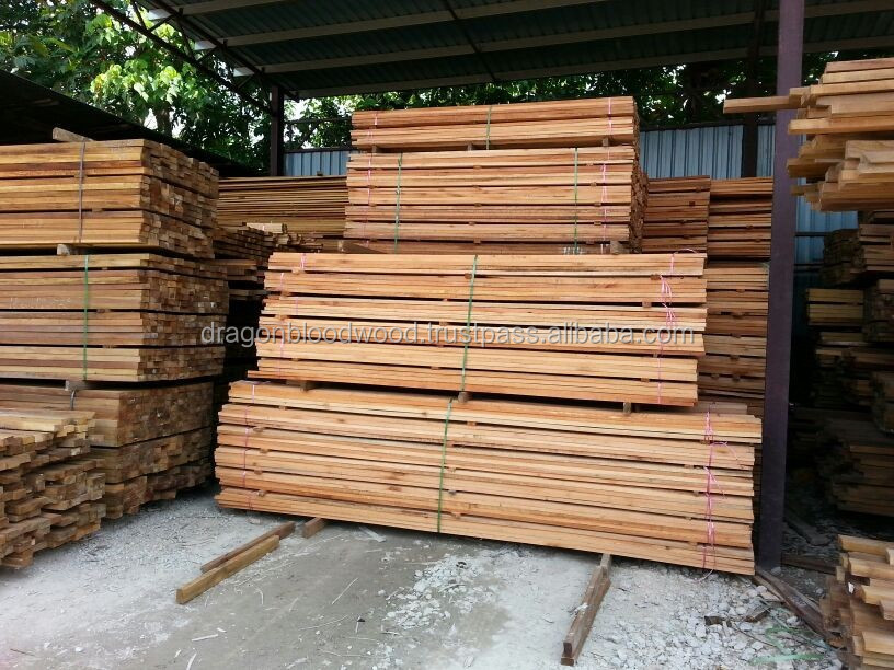 Tropical sawn timber red meranti shorea philiphine