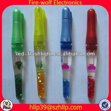 2014 China Supplier New Style Colourful Led Flashing magnetic ball pen