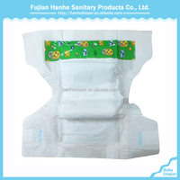 Disposable Hanhe Diaper Soft Cotton Disposable Diapers/Comfortable Disposable Sleepy Baby Diaper