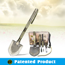 Camping Accessories/The best hiking gear/Multifunction shovel for camping with lighweight backpacks