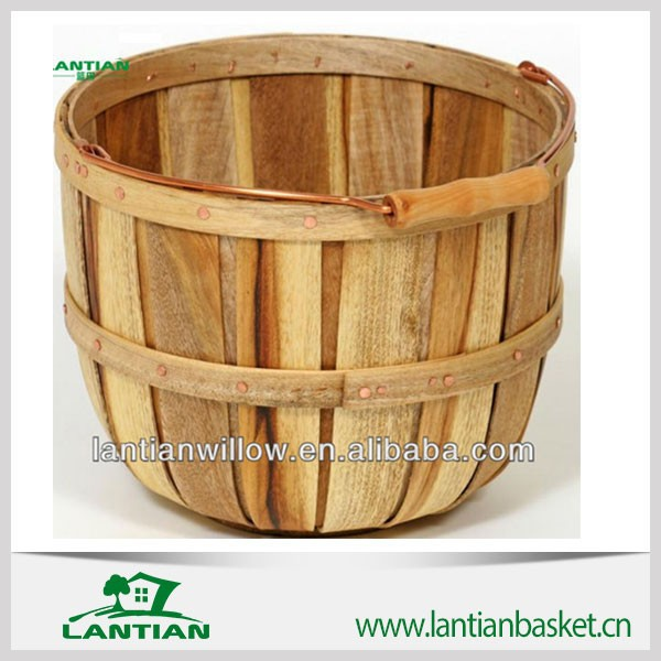 Handmade Basket Companies : High quality natural handmade wooden basket view