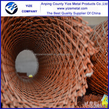 Customized heteromorphism low carbon expanded metal sheet/electro galvanized expanded wire mesh