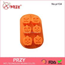 Soap Mold Halloween pumpkin faces Chocolate Mold