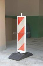rubber barrier
