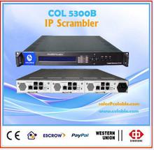 The 2015 most powerful ip scrambler module, 8 frequency multiplexer scrambler (ip input, ip output) COL5300B