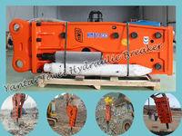 heavy equipment excavator hydraulic breaker