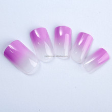 New Purple Style Airbrush Nail Art Stickers in Nail Art, Pre Design Nail Art Tips