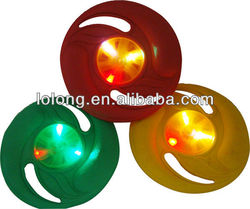 toys led flashing lighting frisbee ,really fly flying disk