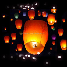 flying chinese paper sky lanterns fire balloons for sale with low price