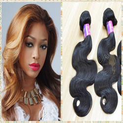 Mona Hair 7A virgin human hair bundles, drop shipping accepted malaysian sex hair products, cheap remy body wave hair