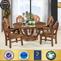 wooden furniture solid wood dining table set