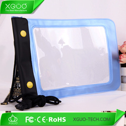 7-8 inch table PVC waterproof bag,universal waterproof case for ipad mini