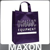 China factory fashion double side printed non woven bags for store