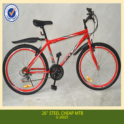 26 inch new steel cheap mountain bike made in china